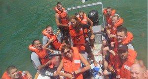 Twin River Rehab ocean exercise activities