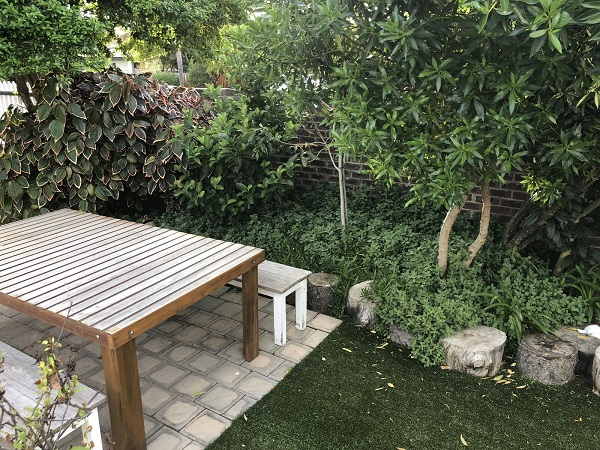 Garden and Relaxation Area