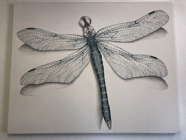 Twin Rivers Dragonfly Painting