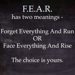 Fear in Recovery-Part One
